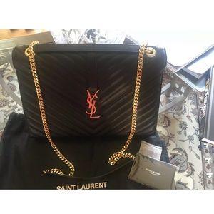 YSL monogramme shoulder bag